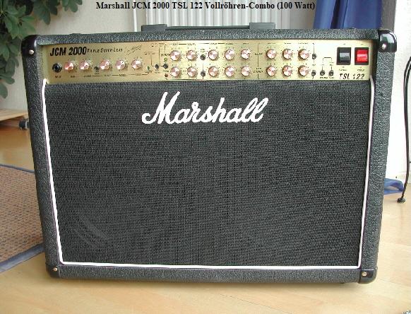 Marshall JCM 2000 TSL 122 Vollröhren-Combo (100 Watt)