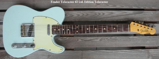 Fender Telecaster 62 Ltd. Edition