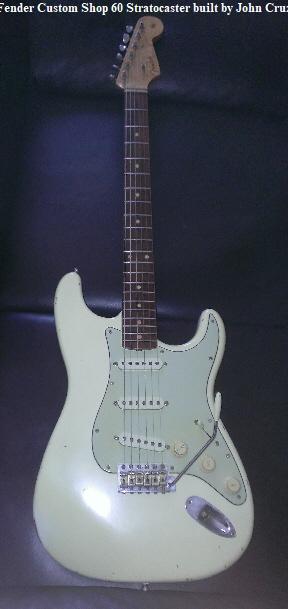 Fender Custom Shop 60 Stratocaster built by John Cruz