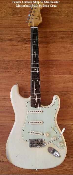 Fender Custom Shop 59 Stratocaster   Masterbuilt built by John Cruz